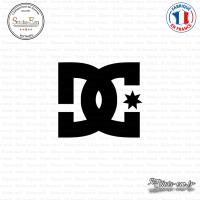 Sticker Dc-Shoes Logo
