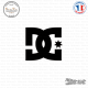 Sticker Dc-Shoes Logo