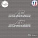 2 Stickers BMW AC Schnitzer Sticks-em.fr Couleurs au choix