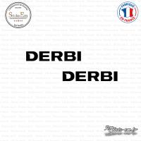 2 Stickers Derbi Sticks-em.fr Couleurs au choix