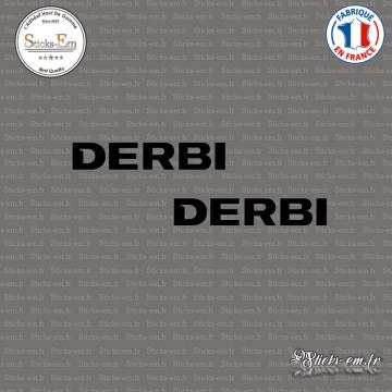 2 Stickers Derbi