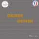 2 Stickers Derbi Sticks-em.fr Couleurs au choix