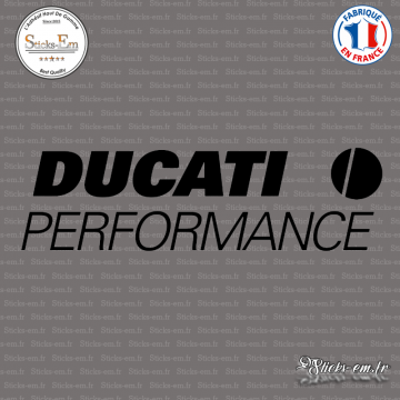 Sticker Ducati Performance