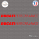 2 Stickers Ducati Performance Sticks-em.fr Couleurs au choix