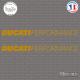 2 Stickers Ducati Performance Sticks-em.fr Couleurs au choix
