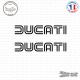 2 Stickers Ducati