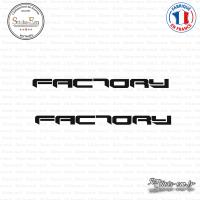 2 Stickers Aprilia Factory sticks-em.fr