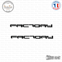 2 Stickers Aprilia Factory Sticks-em.fr Couleurs au choix