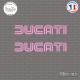 2 Stickers Ducati Sticks-em.fr Couleurs au choix