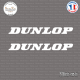 2 Stickers Dunlop Sticks-em.fr Couleurs au choix