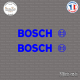 2 Stickers Bosch Sticks-em.fr Couleurs au choix