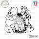 Sticker Winnie the Pooh