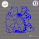 Sticker Winnie the Pooh Sticks-em.fr Couleurs au choix