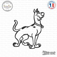 Sticker Scooby Doo