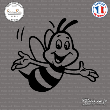 Sticker Abeille