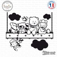 Sticker Le Déjeuner Des Enfants