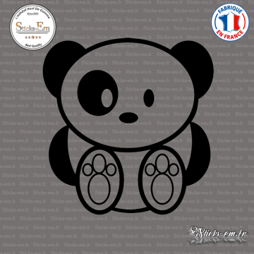 Sticker Ours Panda