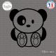 Sticker Ours Panda sticks-em.fr