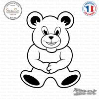 Sticker Teddybear XXL