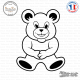 Sticker Teddybear XXL