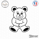 Sticker Teddybear