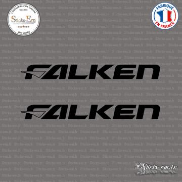 2 Stickers Falken