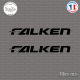 2 Stickers Falken sticks-em.fr