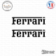 2 Stickers Ferrari