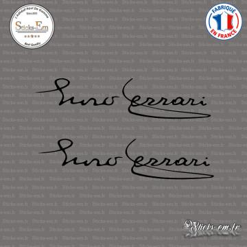 2 Stickers Enzo Ferrari