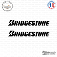 2 Stickers Bridgestone Logo Sticks-em.fr Couleurs au choix