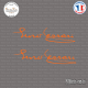 2 Stickers Enzo Ferrari Sticks-em.fr Couleurs au choix