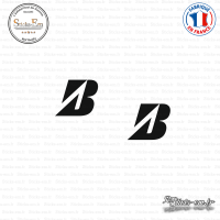 2 Stickers Bridgestone Sticks-em.fr Couleurs au choix