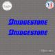 2 Stickers Bridgestone Logo Sticks-em.fr Couleurs au choix