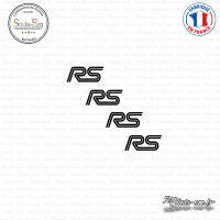 4 Stickers RS Logo Sticks-em.fr Couleurs au choix