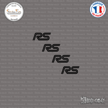 4 Stickers RS Logo