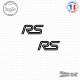 2 Stickers RS Logo