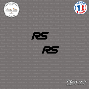 2 Stickers Ford Focus RS