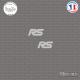 2 Stickers Ford Focus RS Sticks-em.fr Couleurs au choix