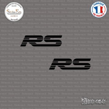 2 Stickers RS Logo V2