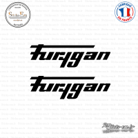 2 Stickers Furygan Sticks-em.fr Couleurs au choix