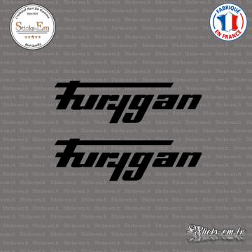 2 Stickers Furygan