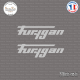 2 Stickers Furygan sticks-em.fr
