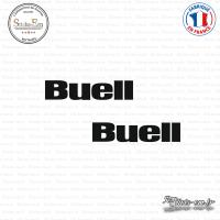 2 Stickers BUELL Logo Sticks-em.fr Couleurs au choix