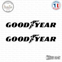 2 Stickers Goodyear