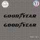 2 Stickers Goodyear Sticks-em.fr Couleurs au choix