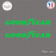 2 Stickers Goodyear Sticks-em.fr Couleurs au choix