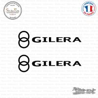 2 Stickers Gilera Sticks-em.fr Couleurs au choix