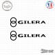 2 Stickers Gilera