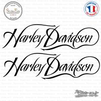 2 Stickers Harley Davidson sticks-em.fr