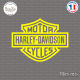 Sticker Harley Logo Sticks-em.fr Couleurs au choix